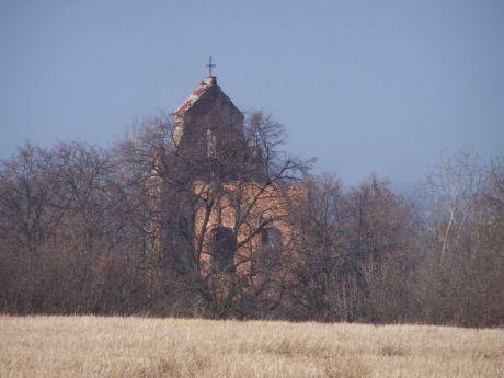 Ruiny barokowego kościoła z XVIIw.